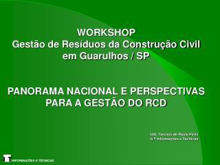 Urb. Tarcísio de Paula Pinto I & T Informações e Técnicas