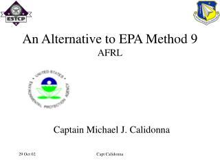An Alternative to EPA Method 9 AFRL