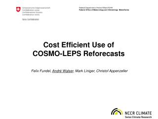 Cost Efficient Use of  COSMO-LEPS Reforecasts