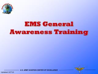 EMS General Awareness Training