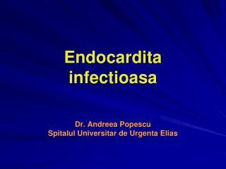 Endocardita infectioasa
