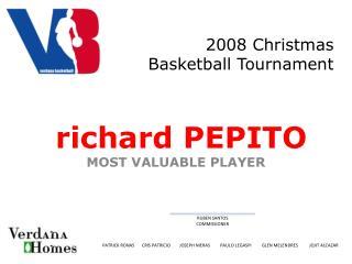 2008 Christmas Basketball Tournament