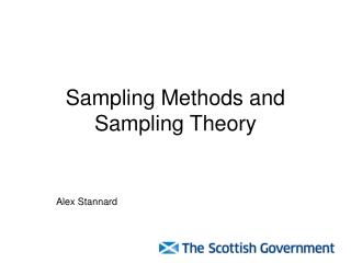 Sampling Methods and Sampling Theory