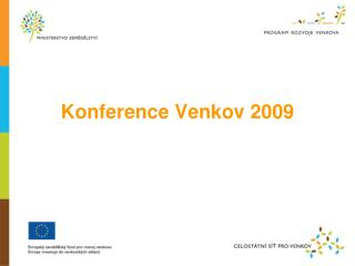 Konference Venkov 2009