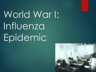 World War I: Influenza Epidemic