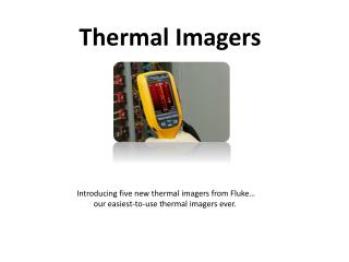 Latest thermal Imagers by Fluke