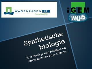 Synthetische biologie