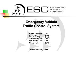 Emergency Vehicle Traffic Control System