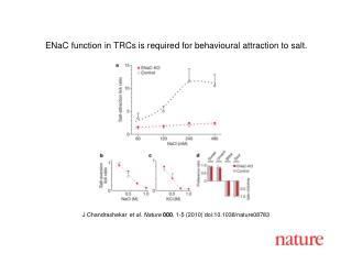 J Chandrashekar et al. Nature 000 , 1-5 (2010) doi:10.1038/nature08783