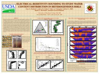 ELECTRICAL RESISTIVITY SOUNDING TO STUDY WATER CONTENT DISTRIBUTION IN HETEROGENEOUS SOILS
