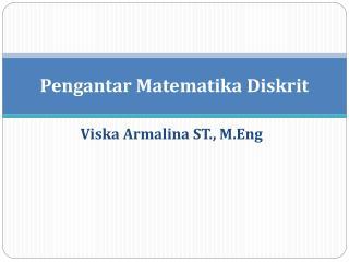 Pengantar Matematika Diskrit