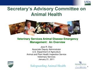 Secretary's Advisory Committee on Animal Health