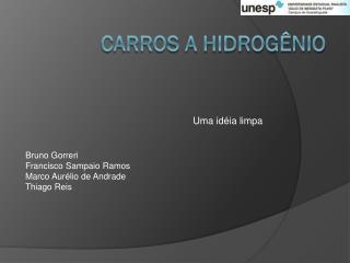Carros a hidrogênio