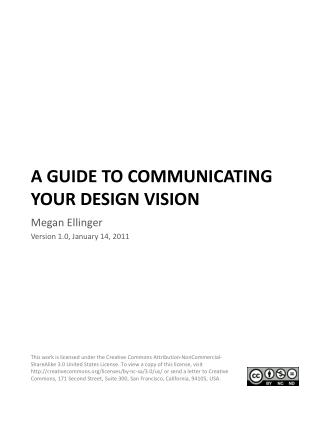 A Guide To Communicating Your Design Vision