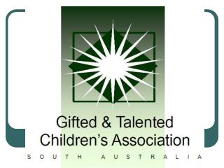 gtcasapp081.ppt - Gifted Resources