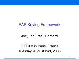 EAP Keying Framework