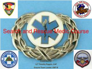 Search and Rescue Medic Course