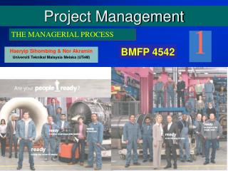 An Overview of Project Management .