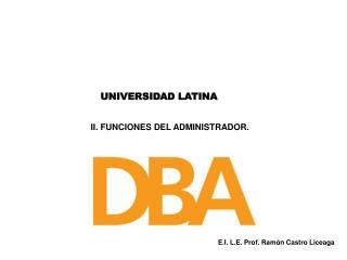 UNIVERSIDAD LATINA
