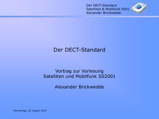 Der DECT-Standard