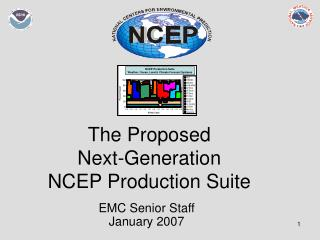 The Proposed  Next-Generation NCEP Production Suite