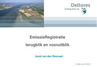 EmissieRegistratie terugblik en vooruitblik