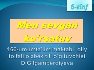 6-sinf