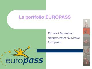 Le portfolio EUROPASS