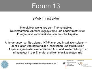 Forum 13