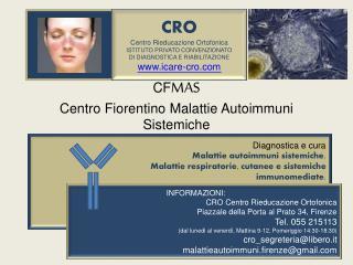 CF MAS Centro Fiorentino Malattie Autoimmuni Sistemiche