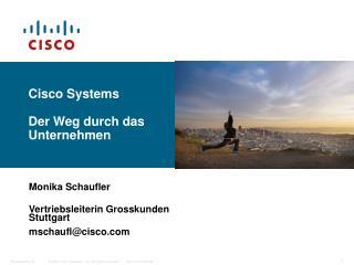 Cisco Systems Der Weg durch das Unternehmen