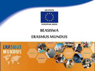 BEASISWA  ERASMUS MUNDUS
