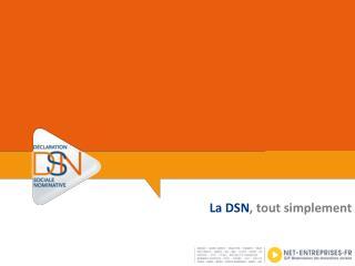 La DSN ,  tout simplement