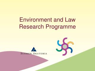 Environment and Law Research Programme