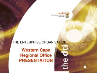 Western Cape Regional Office               PRESENTATION