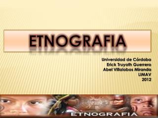 ETNOGRAFIA