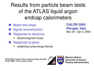 Results from particle beam tests of the ATLAS liquid argon endcap calorimeters