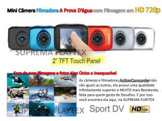 Mini Câmera  Filmadora  A Prova D'água  com Filmagem em  HD 720p