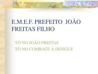 E.M.E.F. PREFEITO  JOÃO FREITAS FILHO