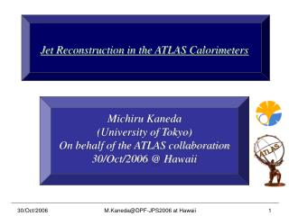 Jet Reconstruction in the ATLAS Calorimeters