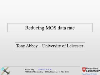 Reducing MOS data rate