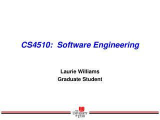 CS4510:  Software Engineering