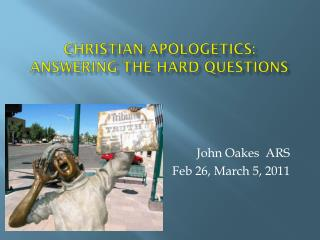 Christian Apologetics: Answering the Hard Questions