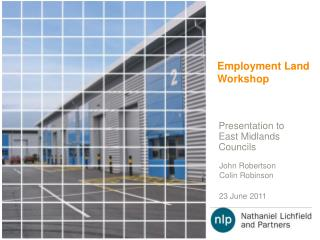 Employment Land Workshop