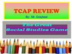 TCAP REVIEW