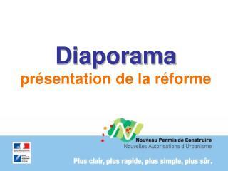 Diaporama présentation de la réforme