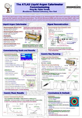 Liquid Argon Calorimeter