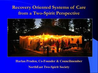 Recovery Oriented Systems of Care from a Two-Spirit Perspective