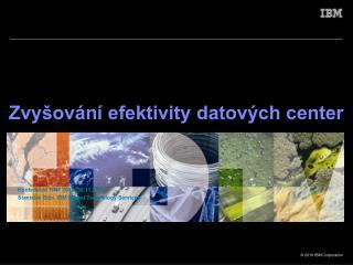 Zvyšování efektivity datových center