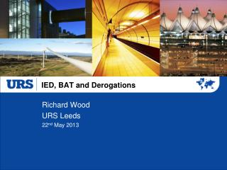 IED, BAT and Derogations